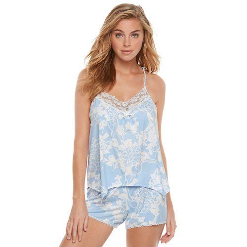 3383eaca2 Women s Apt. 9® Pajamas  Linda s Bouquet Sleep Tank   Sleep Shorts PJ Set