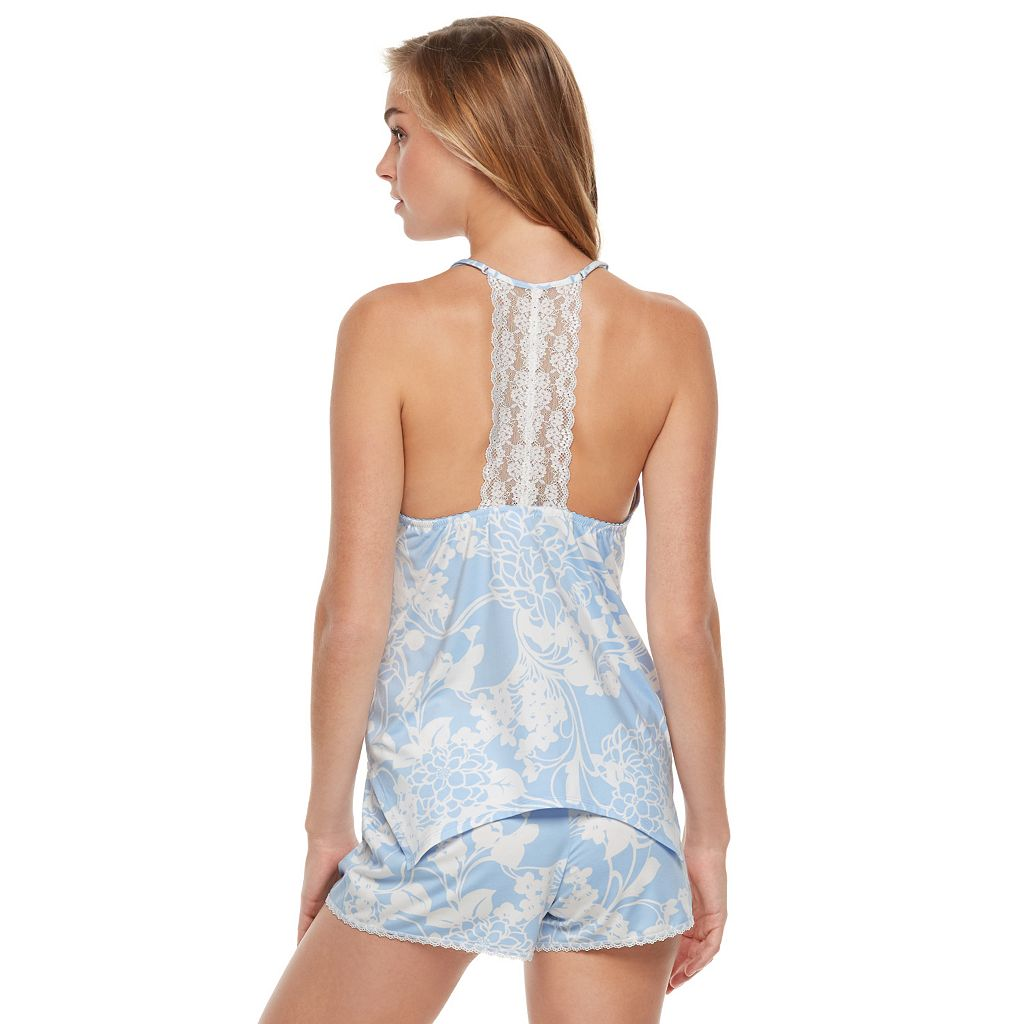 Women's Apt. 9® Pajamas: Linda's Bouquet Tank & Shorts PJ Set
