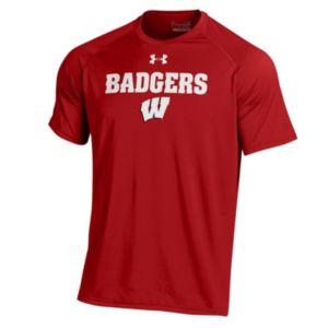 Men's Under Armour Wisconsin Badgers Tech Tee