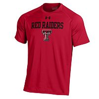Men's Under Armour Texas Tech Red Raiders Tech Tee