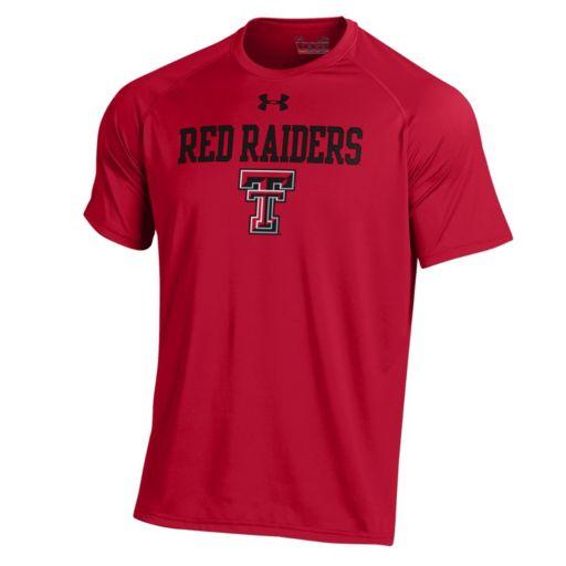 Men's Under Armour Texas Tech Red Raiders Tech Tee