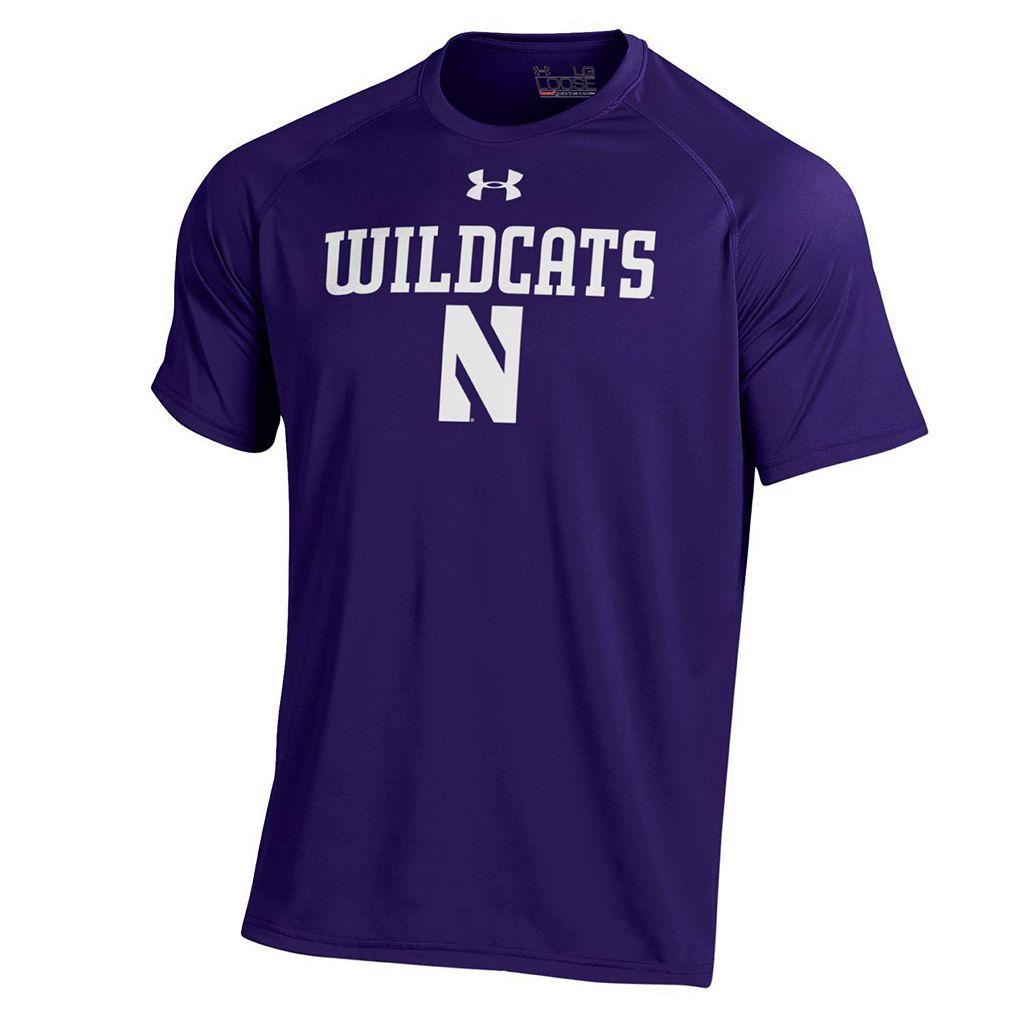 Men's Under Armour Northwestern Wildcats Tech Tee