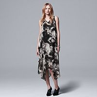 Women's Simply Vera Vera Wang Chiffon Handkerchief Shift Dress