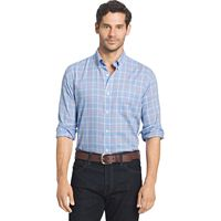 Men's Arrow Hamilton Classic-Fit Plaid Button-Down Shirt