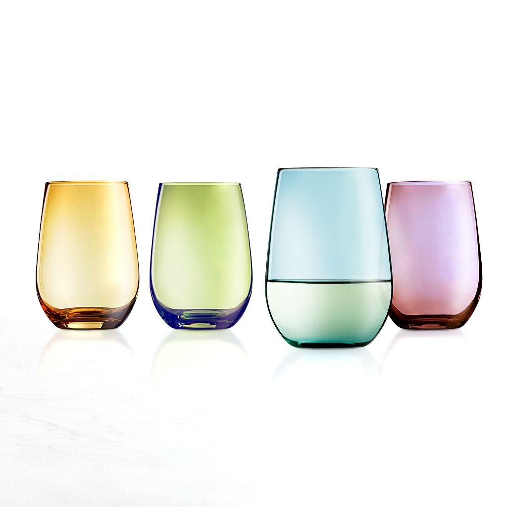 Food Network™ Tuscana 4-pc. Stemless Wine Glass Set
