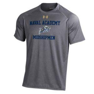 Men's Under Armour Navy Midshipmen Tech Tee
