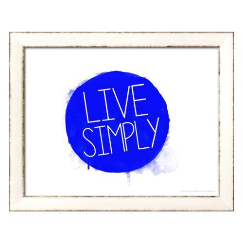 Art.com Live Simply Framed Wall Art