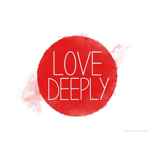 "Art.com ""Love Deeply"" Wall Art Print"