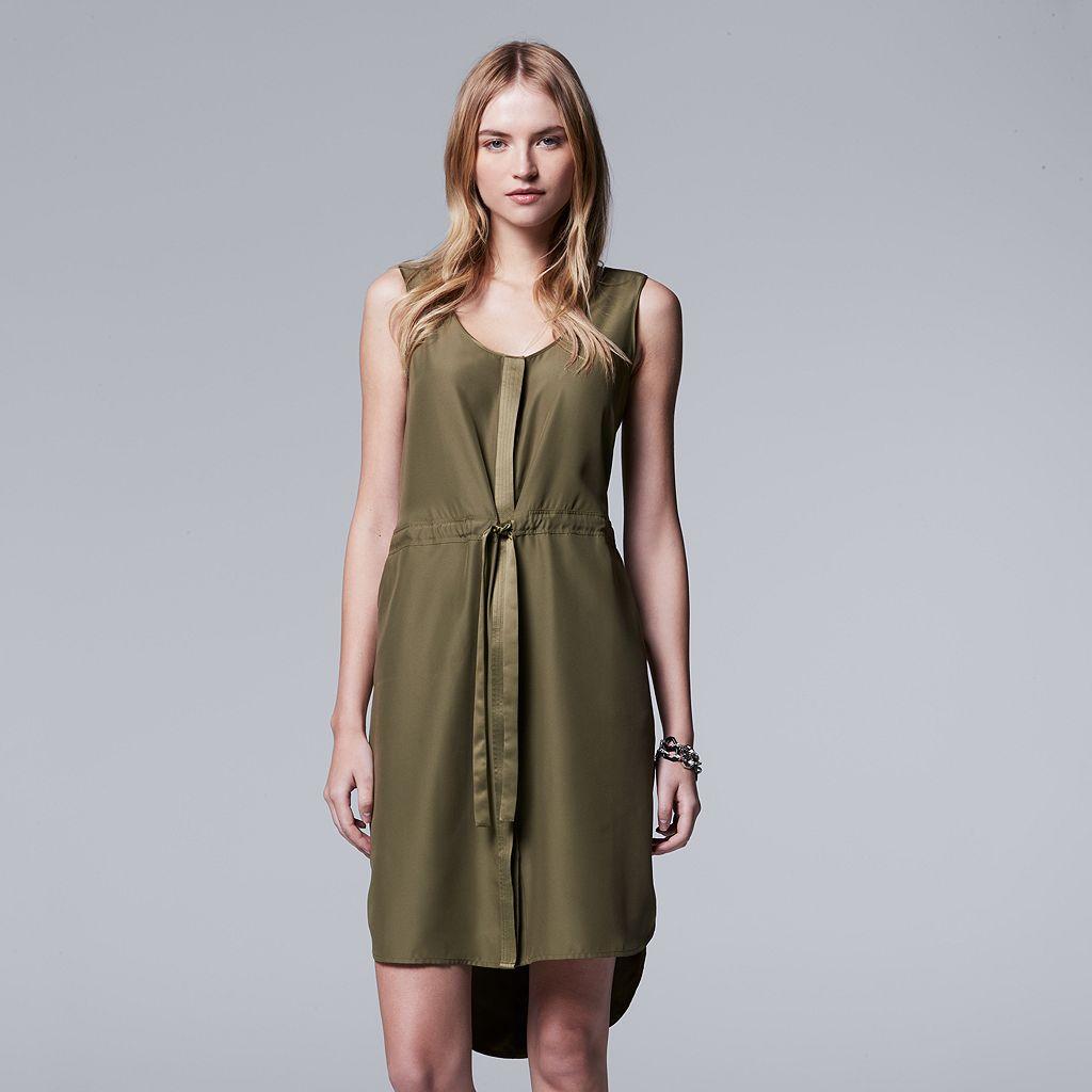 Women's Simply Vera Vera Wang Solid Shift Dress