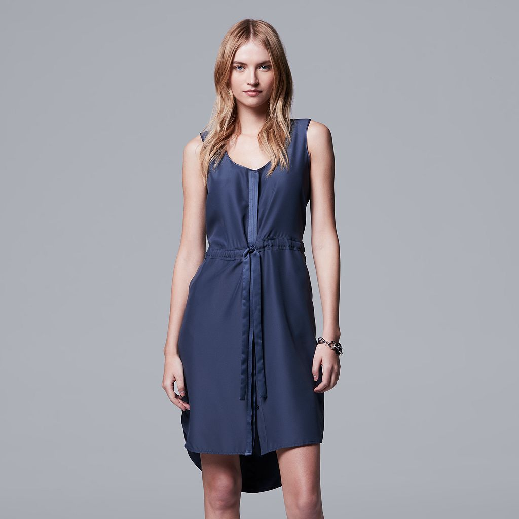 Women's Simply Vera Vera Wang Solid Shift Dress