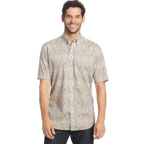 Men's Arrow Coastal Cove Classic-Fit Plaid Button-Down Shirt