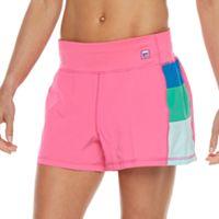 Women's FILA SPORT® Colorblock Running Shorts
