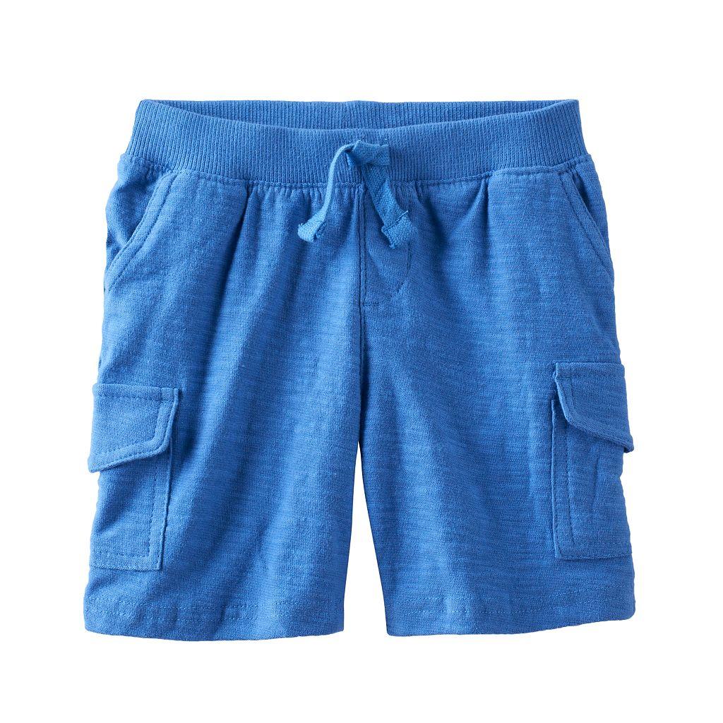 Toddler Boy Jumping Beans® Slubbed Cargo Shorts