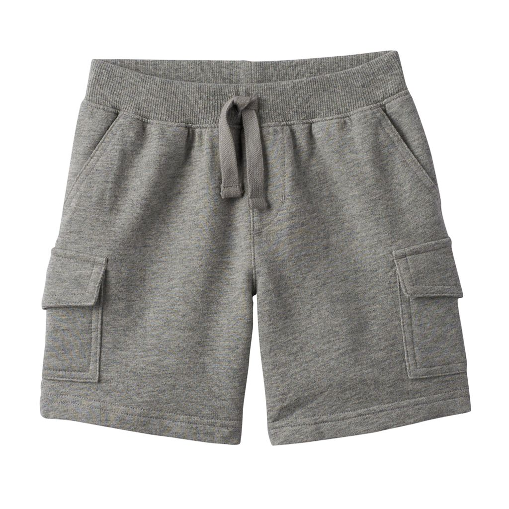 Toddler Boy Jumping Beans® Gray Knit Cargo Shorts
