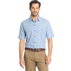 Men's Arrow Boardwalk Bay Classic-Fit Plaid Button-Down Shirt