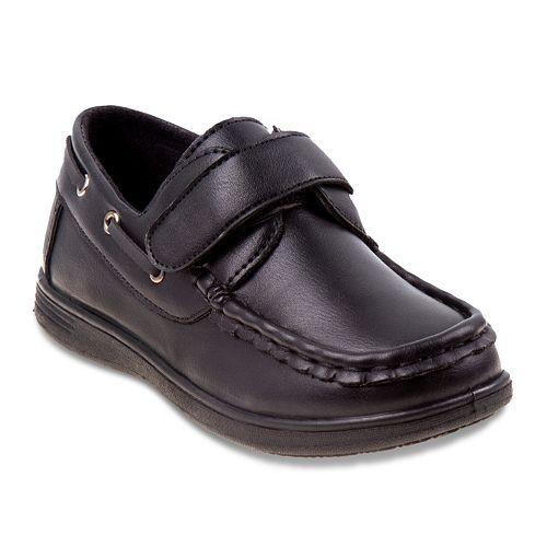 Josmo Toddler Boys' Hook & Loop Boat Shoes