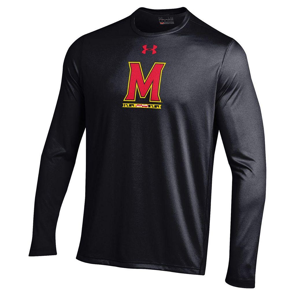 Men's Under Armour Maryland Terrapins Tech Long-Sleeve Tee