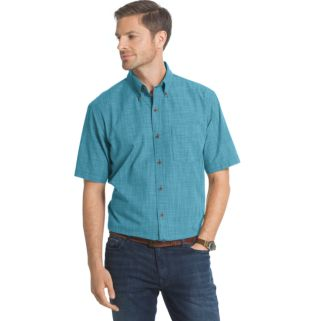 Men's Arrow Boardwalk Bay Classic-Fit Crosshatch Button-Down Shirt