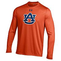 Men's Under Armour Auburn Tigers Tech Long-Sleeve Tee