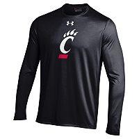 Men's Under Armour Cincinnati Bearcats Tech Long-Sleeve Tee