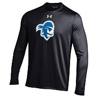 Men's Under Armour Seton Hall Pirates Tech Long-Sleeve Tee