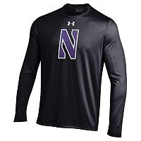 Men's Under Armour Northwestern Wildcats Tech Long-Sleeve Tee