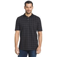 Men's Arrow Classic-Fit Windowpane Polo