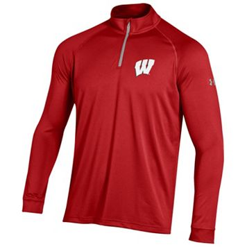 Men's Under Armour Wisconsin Badgers Tech Pullover