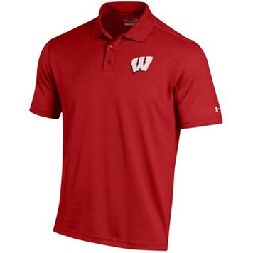 Men's Under Armour Wisconsin Badgers Performance Polo