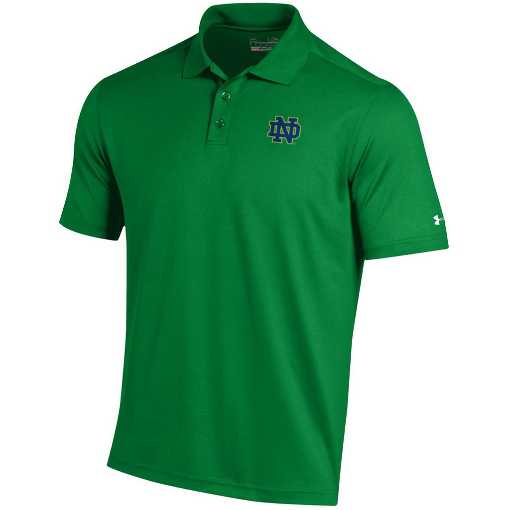 Men's Under Armour Notre Dame Fighting Irish Performance Polo