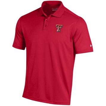 Men's Under Armour Texas Tech Red Raiders Performance Polo