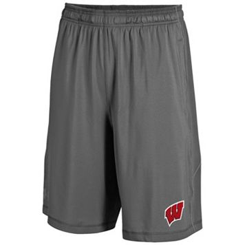 Men's Under Armour Wisconsin Badgers Raid Shorts