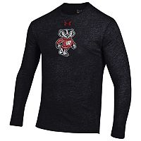 Men's Under Armour Wisconsin Badgers Triblend Tee