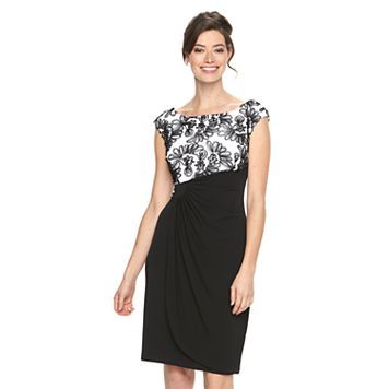 Women's Connected Apparel Soutache Sheath Dress