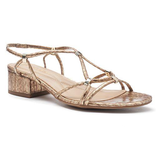 Andrew Geller Kernie Women's Block-Heel Sandals