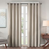 Madison Park Declan Lined Jacquard Window Curtain