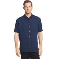 Men's Van Heusen Classic-Fit Striped Dobby Button-Down Shirt