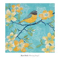 Art.com ''Morning Song I'' Wall Art Print
