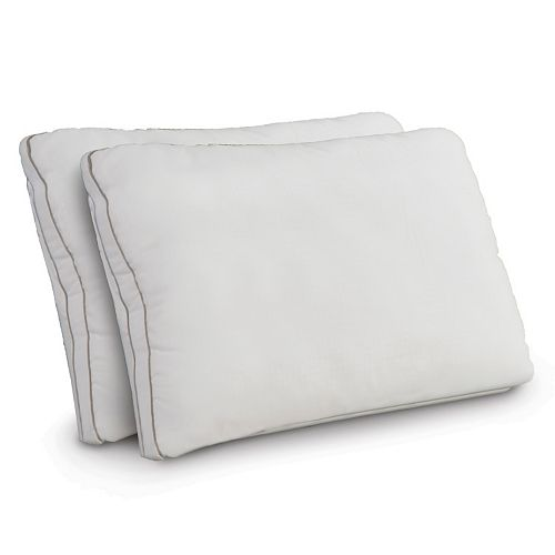 Dream Therapy 2-pack Memory Foam & Fiber Jumbo Pillow