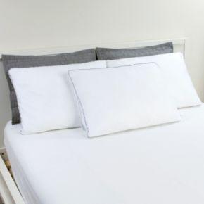 Dream Therapy 2-pack Memory Foam & Fiber Jumbo Pillow