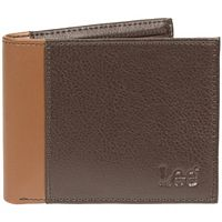 Men's Lee RFID-Blocking Tumbled-Leather Passcase Bifold Wallet