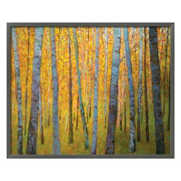 Art.com Forest Verticals Framed Wall Art