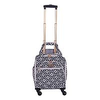 Jenni Chan Aria Snowflake 15-Inch Spinner Luggage Tote