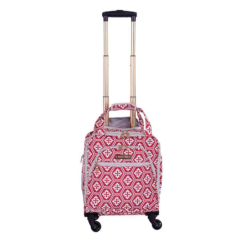 Jenni Chan Aria Snowflake 15-Inch Spinner Luggage Tote