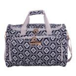 Jenni Chan Aria Snowflake 17-Inch Duffel Bag