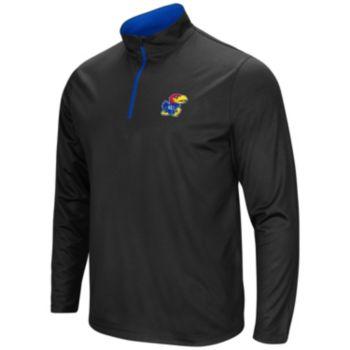 Men's Campus Heritage Kansas Jayhawks Quarter-Zip Windshirt