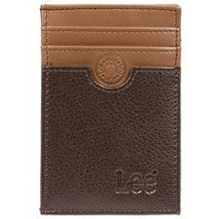 Men's Lee RFID-Blocking Front-Pocket Wallet