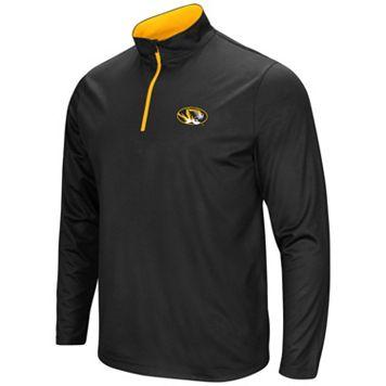 Men's Campus Heritage Missouri Tigers Quarter-Zip Windshirt