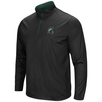 Men's Campus Heritage Michigan State Spartans Quarter-Zip Windshirt