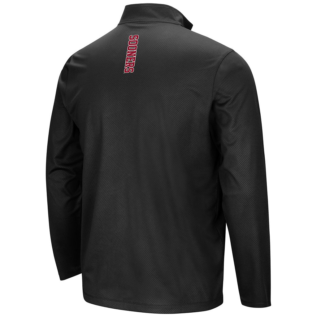 Men's Campus Heritage Oklahoma Sooners Quarter-Zip Windshirt